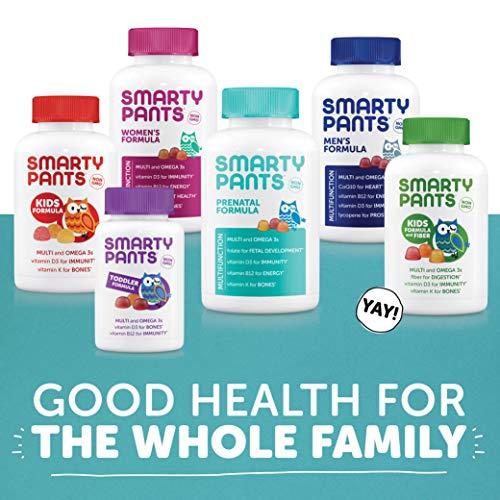 SmartyPants Prenatal Formula Daily Gummy Vitamins: Gluten Free, Multivitamin, Folate (Methylfolate), Omega 3 (Dha/Epa) Fish Oil, Methyl B12, vitamin D3, 120 Count (30 Day Supply) - Packaging May Vary