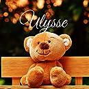 Ulysse: Souvenirs de naissance - album à compléter et personnaliser avec vos photos - format 21X21