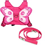 Alotpower Baby Safety Harness Walking Belt Child Harness with Leash Strap (Pink)