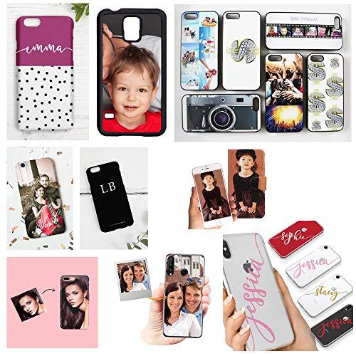 Funda personalizada para iPhone con texto de foto en la cubierta del teléfono, personaliza con imagen - Design For Me (iPhone 7 Plus, personaliza ahora)