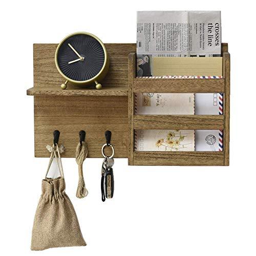 Organizador de sobres con 3 ganchos para llaves Clasificador de correo de...