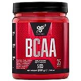 bsn dna bcaa, aminoacidi essenziali in polvere, nutrizione sportiva, non aromatizzato, 35 porzioni, 200 g