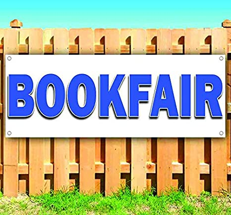 Non-Fabric Bookfair 13 oz Banner Heavy-Duty Vinyl Single-Sided with Metal Grommets