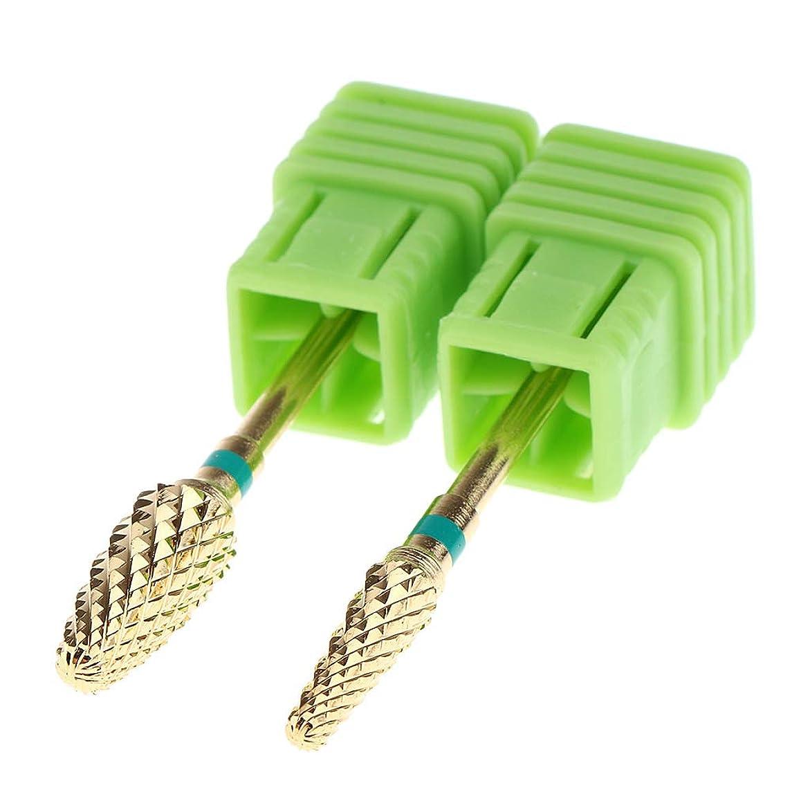 再生可能メダルビザCUTICATE 全3色 ネイルアートのため ネイルアート ネイルドリル ビット 研磨研削ヘッドツール - 緑