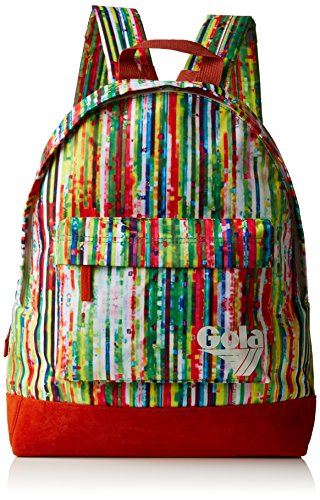 Gola - Zaino Walker Glitch, unisex, Multicolore (Multicolore (Multi/Arancione)), Taglia unica