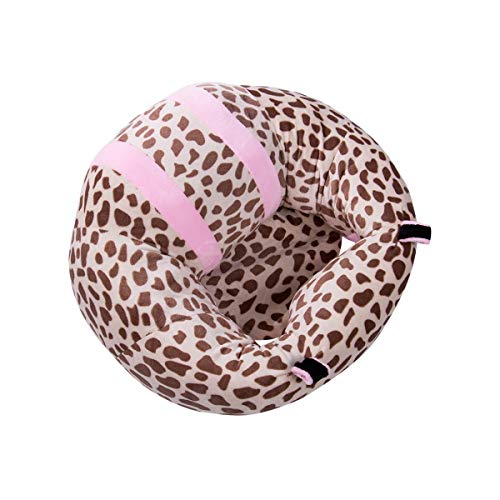 LanXin Comfortable Kids Baby Support Seat Sit Up Soft Chair Cushion Sofa Plush Pillow Toy Bean Bag Colorful Babe Chairs (Color : Leopard print)