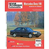 E.T.A.I - Revue Technique Automobile 465.4 - MERCEDES 190 I - 1983 à 1993