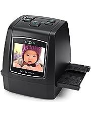 Escáner de película EC018 Escáner de Diapositivas de película de Alta resolución CMOS 35 mm, 110/135 / 126KPK / Super 8 películas USB 2.4 TFT LCD