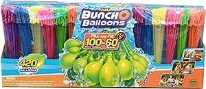 Bunch O Balloons Zuru 420 Instant Self Sealing Water Balloons, Multicolor