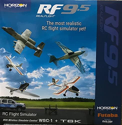フタバ リアルフライト9.5 ソフト+6K送信機単品+ワイヤレスシミュレーターコントロール WSC-1付