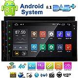 Eincar 7 pulgadas Android 8.1 est¨¦reo Oreo coche 2 din en el tablero de navegaci¨®n GPS Bluetooth Radio Tel¨¦fono Jefe Unidad de Apoyo de reflejo de la CAM-EN OBD2 4G / 3G WIFI completa de panel