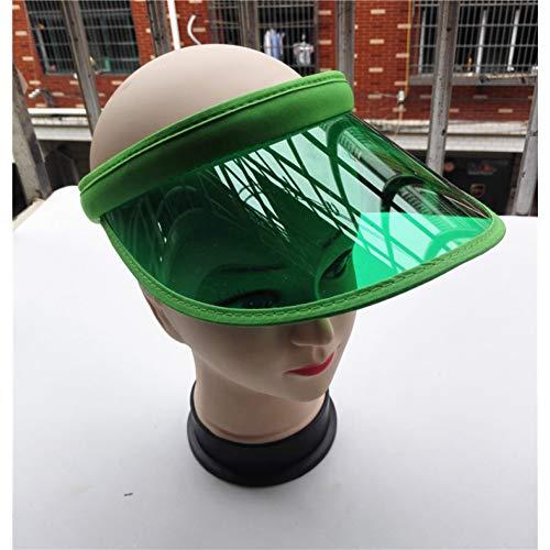 ZJIEJ Cappello da Sole Cappellini con Visiera Parasole in Plastica in Plastica da Donna di Moda Estiva Nuovo Ciclismo Protettivo UV per Adulti