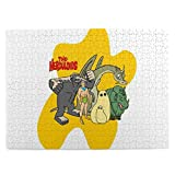 Classic Cartoons The Herculo-Ids Wooden Jigsaw Puzzle 500 Pieces Intellectual Education Game For Adults Child Kids Gift Toys Artwork Home Decor