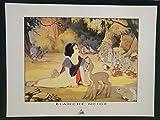 Disney Poster - (Schneewittchen 2) - Retro Art Kunstdruck -