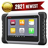 Autel Scanner MaxiCOM MK808: 2021 Auto Scanner for All Cars with All System Diagnostic, 25+ Service Functions, IMMO, Oil Reset, EPB, SAS, ABS Bleed, Same as MX808, Updated from MaxiCheck Pro & MD802