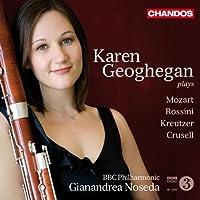 Karen Geoghegan Plays Mozart by JOHAN HALVORSEN (2010-10-26)