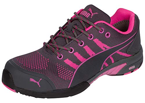 PUMA Safety Women's Celerity Knit SD Pink Boot Size 8.5