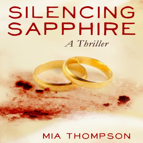 Silencing Sapphire audiobook cover art