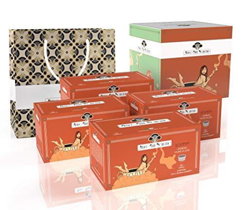Antico Caffè Novecento Blend Giovanna Italian Espresso en cápsulas compatibles con el sistema Lavazza Espresso Point - 64 cápsulas (416 gramos)