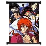 Rurouni Kenshin Anime Fabric Wall Scroll Poster (16' x 22') Inches. [WP]-Rurouni-11