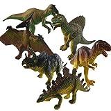 Knowing Dinosaurios Set,Dinosaurio de Juguete,Dinosaurio Jurásico,para Tyrannosaurus Rex, Stegosaurus, Triceratops, Utahraptor, Spinosaurus, Pterosaurios, Protección del Medio Ambiente de PVC