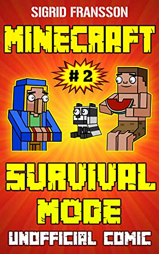 Minecraft Comic Book: Minecraft Survival Mode Comic 02 (English Edition)