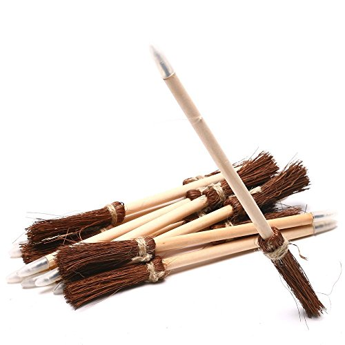 WITCHES BROOM PENS 2 DZ - Stationery - 24 Pieces