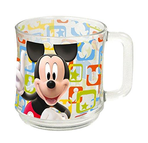Familie24 Tasse Auswahl Kaffeetasse Tasse Kaffeebecher Becher Glas Micky Maus Minnie Maus Paw Patrol Spiderman (Mickey Maus)