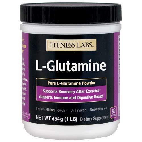Fitness Labs L-Glutamine Powder, 89 Servings, 1 pound (454 grams) Arkansas