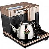 AKAMAS Juego de té de Horno de té de Cocina de inducción del hogar Pequeño Tanque de Agua Agua automática Horno de té de Acero Inoxidable, Oro, 1 Baibao