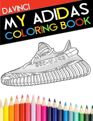 My Adidas Coloring Book: 4 (DaVinci Coloring Book Collection) 🔥