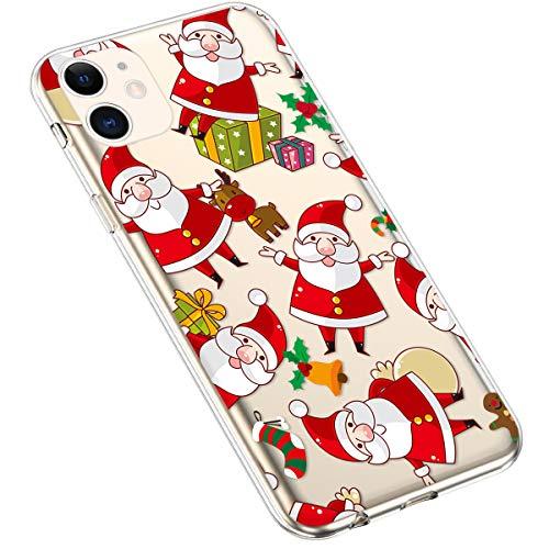 Uposao - Zapatillas de hockey sobre hierba para mujer Santa Claus iPhone 11