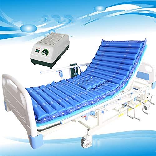 CYYYY Materasso ad Aria Medicale, Materasso a Pressione alternata Include Tranquillo Elettrico Pompa d'Aria Adatto Ospedale Standard Letto for i pazienti Costretti a Letto