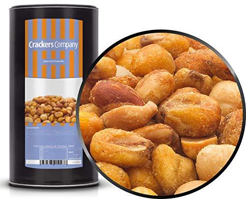 1 x 600g Snackmischung vegetarisch mit Mais und geröstete Erdnüsse