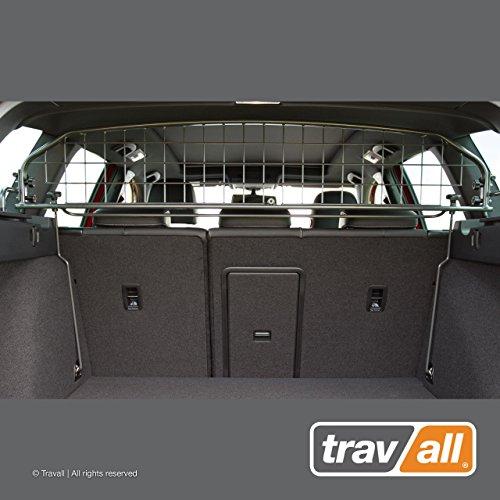Travall Guard Hundegitter Kompatibel Mit Volkswagen Golf Variant (2013-2019) Alltrack (Ab 2015) TDG1472 - Maßgeschneidertes Trenngitter
