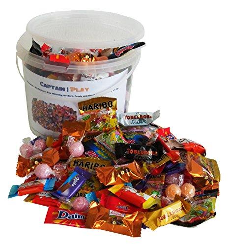 Süßigkeiten – Mix Exclusive Box 159-teilig, für Büro, Praxis und Kanzlei, 1er Pack (1 x 1,1 kg)