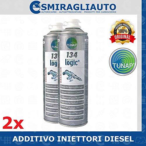 TUNAP 2X 134 500ML - ADDITIVO Pulizia INIETTORI Diesel - 2 bombolette Super Offerta