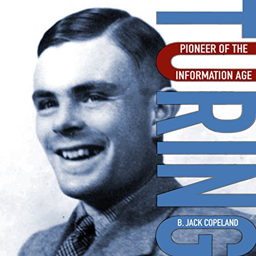 Turing audiobook cover art