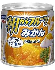 はごろも 朝からフルーツ みかん 190g (4080) ×24個