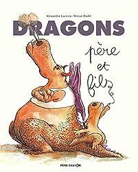 Livres Halloween : Dragons père et fils