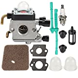 Harbot FS55R C1Q-S97 Carburetor with Tune Up Kit for STIHL FS38 FS45 FS46 FS55 KM55 HL45 FS45L FS45C FS46C FS55C FS55RC String Trimmer Weed Eater 4140 120 0612