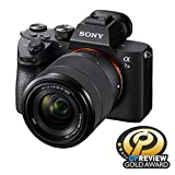 Sony a7 III (ILCE7M3K/B) Full-frame Mirrorless Interchangeable-Lens Camera with 28-70mm Lens with 3-Inch LCD, Black