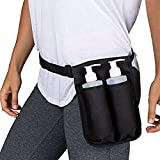Massage Bottle Holster Durable Waist Pack Spa Double Lotion Oxford loth Heavy Duty Essential Oil Dispenser Adjustable Soft Holder Accessories