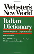 Webster's New World Italian Dictionary: Italian/English, English/Italian