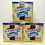 Elevation by Millville Protein Bars Carb Conscious Coconut Almond 8oz 220g (Pack of Three)