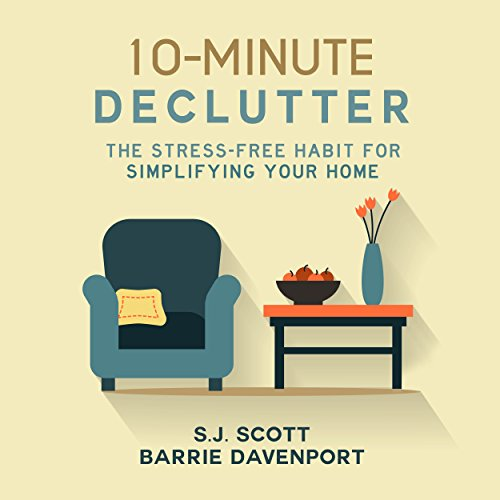 10-Minute Declutter audiobook cover art