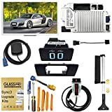 2021 Complete MyFord Touch SYNC 2 to SYNC 3 Upgrade Kit, for Ford Lincoln 8''Capacitive Touch Screen APIM USB Interface Module GPS Navigation Antenna, SYNC3.4 Latest NA 1 19 map with Snow Brush