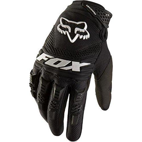 Lanrui Motorradhandschuhe Schutz Biker Rad Sport Training Glove Racing Handschuhe (L, Schwarz)