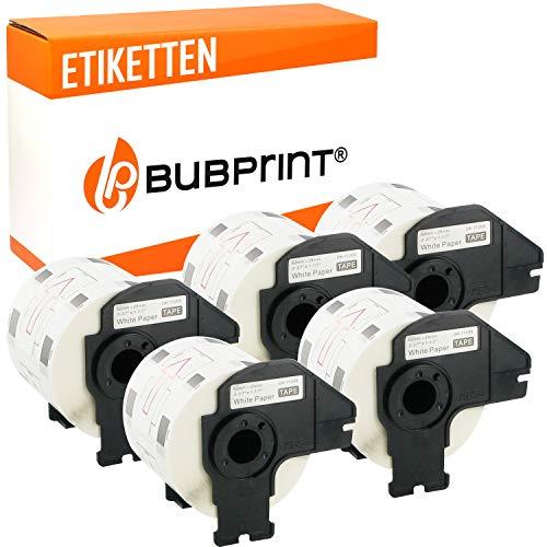 Bubprint 5 Etiketten kompatibel für Brother DK-11209 für P-Touch QL1050 QL1060N QL500BW QL550 QL560 QL570 QL580N QL700 QL710W QL720NW QL800 QL810W