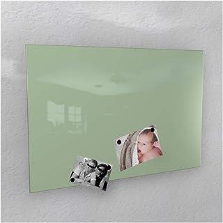 Colours-Manufaktur - Pared magnética (40 x 60 cm, 50 x 80 cm, 60 x 90 cm, 50 x 110 cm), Color Blanco Brillante, Metal, Ral...